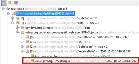 java date format javascript groovy render as json java sql timest in in javascript