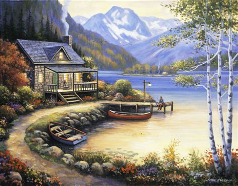 fishing wall murals fishing at the lake wall rustic wallpaper by