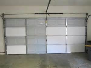 garage door insulation panels to keep your garage warm