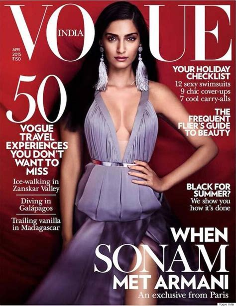 Vogue India by April 2015 Magazine Covers