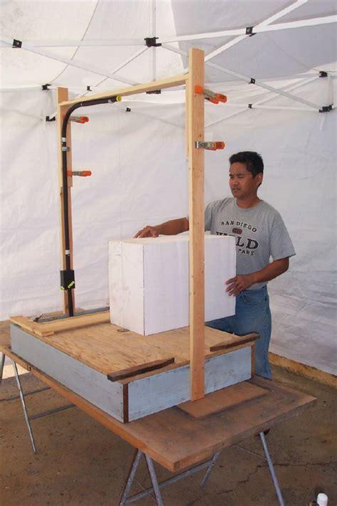 wire foam cutter table best 25 foam cutter ideas on how to cut