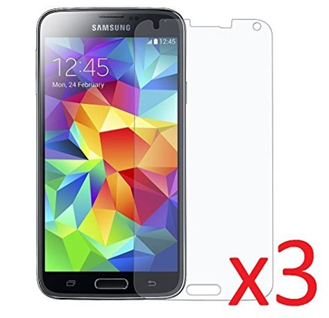 Screen Protectors M A K 2 pack mr shield for samsung galaxy s5 tempered glass