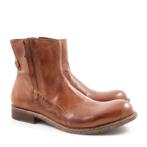 Handmade Mens Boots - handmade s ankle boots in whisky or black leather