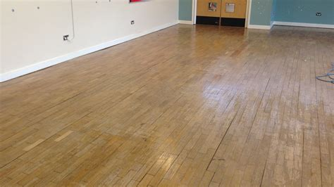 Wood Floor Restoration by Wood Floor Restoration At The Children S Centre