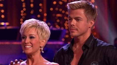 kellie pickler short haircut on dancing with the stars dancing with the stars 2013 kellie and derek perform cha