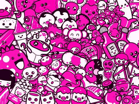 kawaii wallpaper pink pink wallpaper wallpapersafari