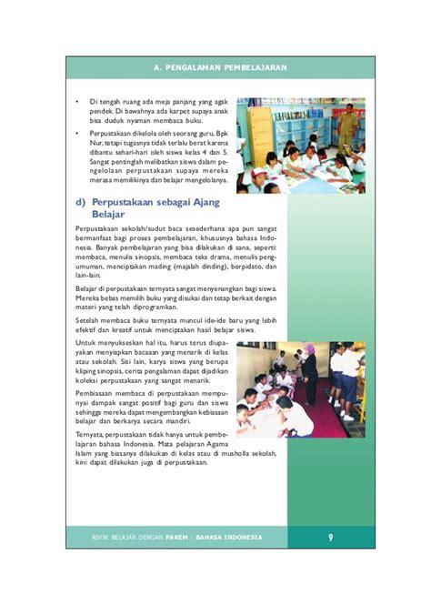 Mandiri Bahasa Indonesia Ix asyik belajar bahasa indonesia