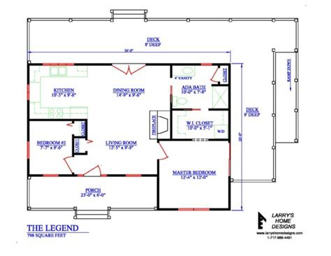 disabled access floor plans 600 sq ft home floor 798 sq ft wheelchair accessible small house plans