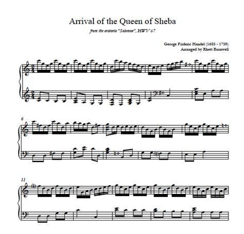 tutorial main gitar bass arrival of the queen of sheba harp column music