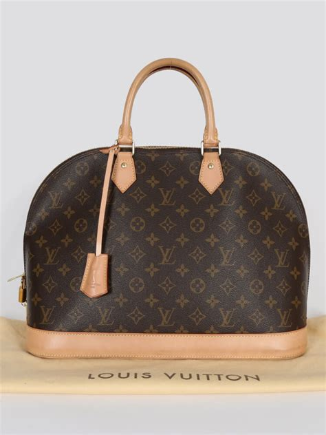 Ultra Exclusive Bags From Louis Vuitton by Louis Vuitton Alma Gm Monogram Canvas Luxury Bags