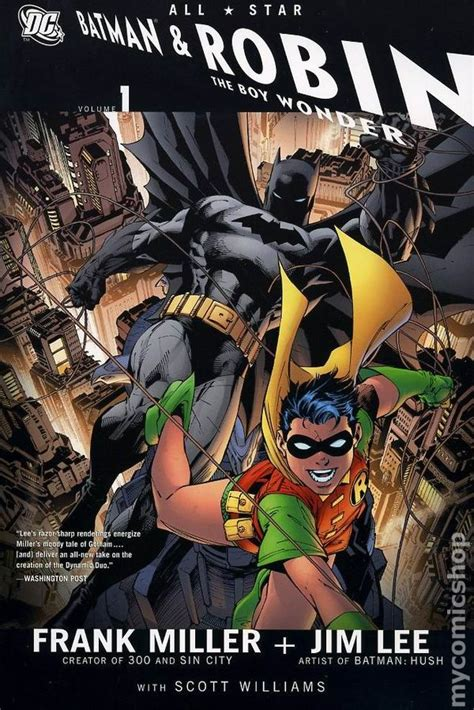 libro all star batman hc all star batman and robin the boy wonder hc 2008 dc comic books