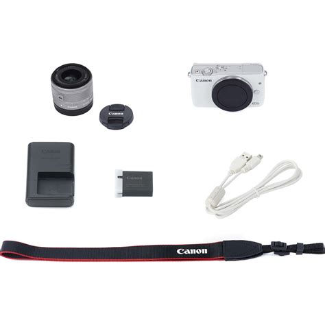 Canon Eos M 10 Kit 15 45 White canon eos m10 15 45 kit white bijeli wifi mirrorless