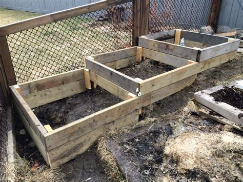 how to build raised beds raised garden on a slope www imgkid com the image kid