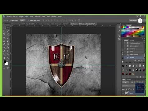 tutorial photoshop cs6 español youtube escudo con photoshop cs6 de estilo medieval tutorial