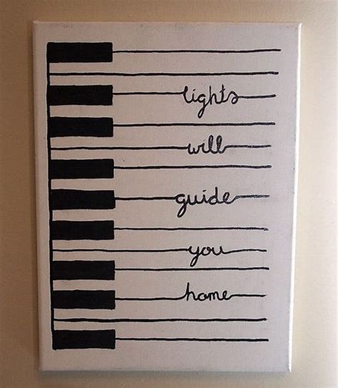 What Do You Make Of This Jackie Canvas Bag By All Saints by Handpainted Piano With Quote I Need To Make This Stat