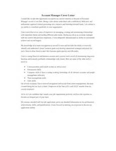 Accounting Manager Cover Letter by Basic Accounting Manager Cover Letter Sles And Templates