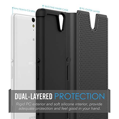 Sony Xperia C5 Ultra Armor Bumper Casing Cover Mewah Gaul sony xperia c5 ultra moko shock absorption slim