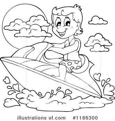 jet ski coloring pages to print fun to ride jet ski coloring pages picolour