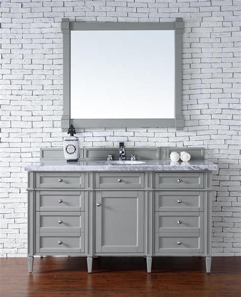 bathroom vanity no top contemporary 60 inch single bathroom vanity gray finish no top