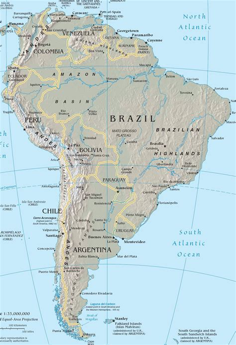 maps map of central and south america central america large map