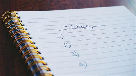 list paper  stock photo