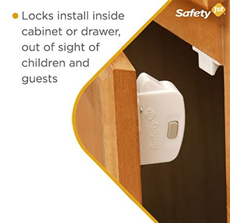 safety first cabinet lock best childproofing locks cabinets drawers more
