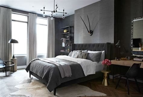 dark grey bedroom dark gray walls design decor photos pictures ideas