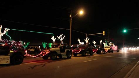 jeep christmas lights trans siberian orchestra jeep light show youtube
