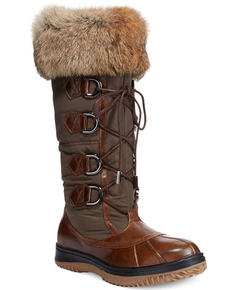 macys womens snow boots rudsak begonia cold weather boots boots shoes macy s