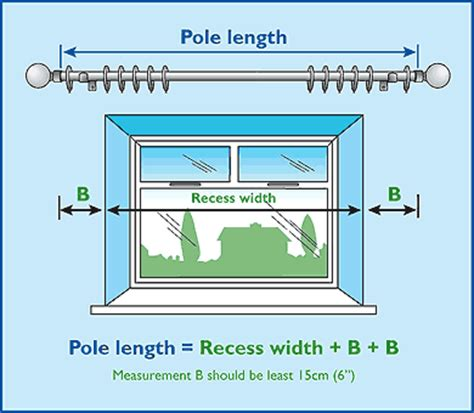 curtain pole length faq