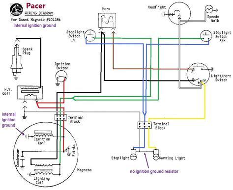 magneto wiring diagram wiring diagrams 171 myrons mopeds