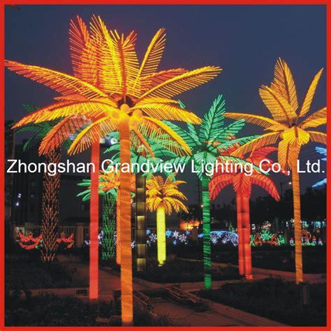 led palm tree lights china led coconut palm tree lights for