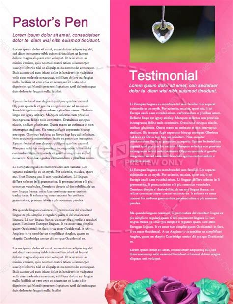 valentines newsletter template s day banquet christian newsletter template