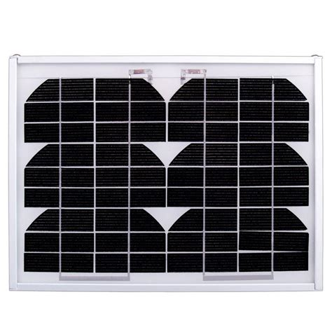 ramsond 5 watt 12 volt monocrystalline pv solar panel sp
