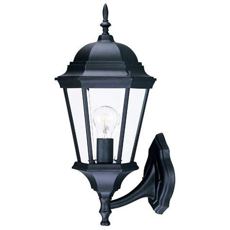 Acclaim Lighting Richmond Collection 1 Light Matte Black Black Outdoor Light Fixtures