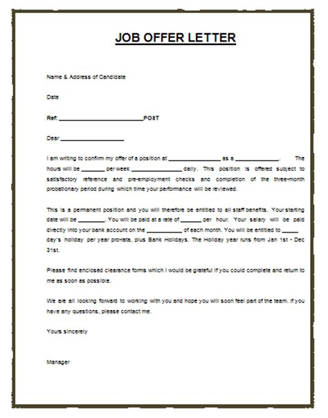 Offer Letter With Salary Structure Invitation Letter Sle Archives Payslip Templates