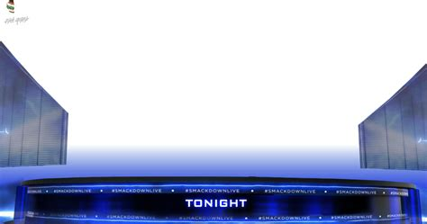 live card template renders backgrounds logos smackdown live match card 2016