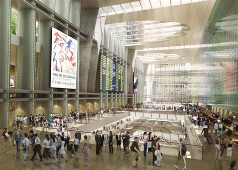 Penn Station Square Garden by Wordlesstech Four Top Architects Re Envision Penn