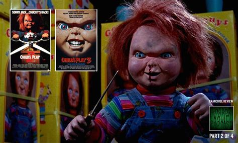 film chucky part 2 horror movie podcast ep 129 child s play 2 1990 and