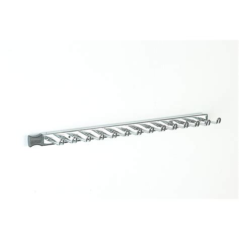 closetmaid sliding tie and belt rack chrome 58053