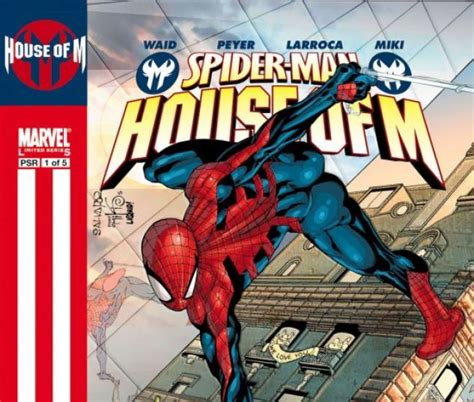 house of m spider man spider man house of m 2005 1 comics marvel com