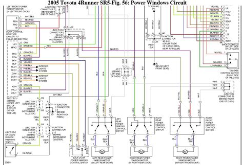4runner liftgate wiring diagram sunroof wiring diagram