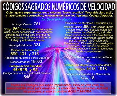lista actualizada codigos sagrados mejores 73 im 225 genes de codigos sagrados numericos de