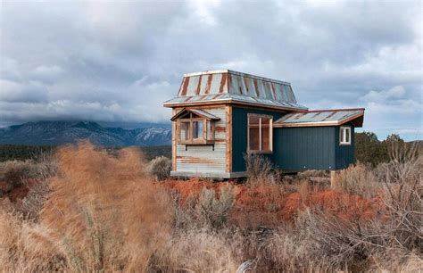 tiny cabin at black mountain rustic tiny house on wheels includes a unique addition