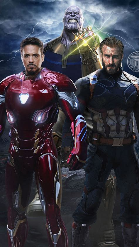 avengers infinity war captain america iron man