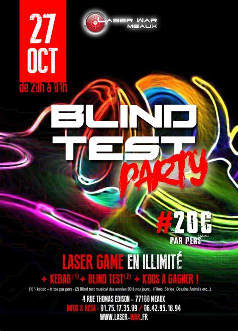 blind test party vol laser war