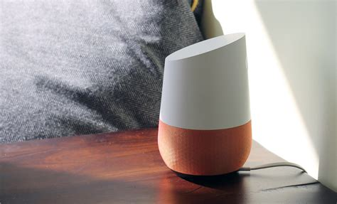 lights for google home google home review google puts its a i on a nightstand