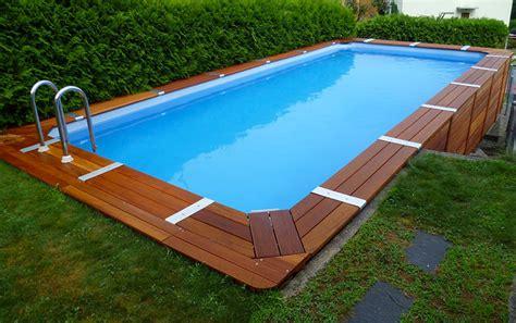 piscine fuori terra rivestite in legno 20 modelli di piscine fuori terra in legno mondodesign it
