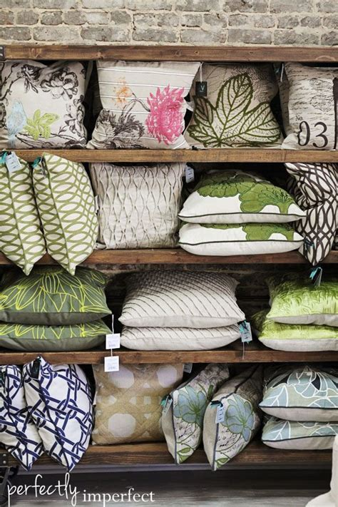 storing pillows 93 best images about cushion display ideas on pinterest