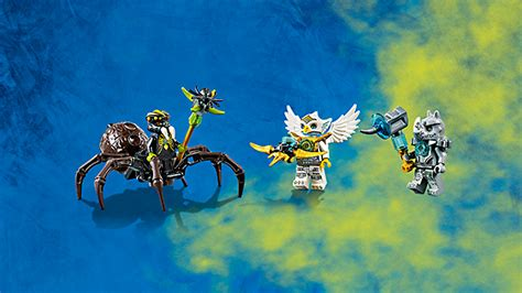 Sale Lego Legends Of Chima 70133 Spinlyn S Cavern image spinlyn cavern figures png brickipedia the lego